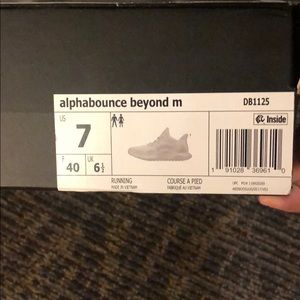 adidas Shoes - adidas alphabounce beyond running shoe white